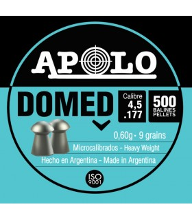 APOLLO pellets for PCP Airguns - Domed 4,5 0.177