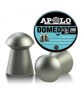 Balines APOLO para carabinas PCP de aire comprimido Domed Cal. 6,35 - 2,2 gramos