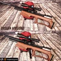 Esperando la revisión de la Hound Larga 👏👏👏👍. ________________  #repost @trojanairguns ・・・ Houng long cal 25 Un cachorro salvaje, proximamente en tu canal favorito https://www.loboairguns.com/es/carabinas-de-aire-comprimido/carabina-pcp-bullpup-hound-larga #airguns #edgun #fxairguns