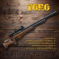 Carabina Toro, la grande de la familia.   #pcp #loboairguns #airguns #carabina #instagram