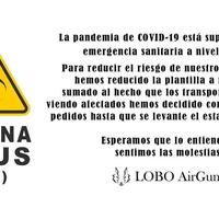 Debido al COVID-19, congelaremos pedidos hasta nuevo aviso. Sentimos las molestias 🙏 #covid_19 #todoirabien